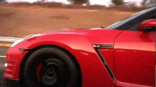 Z06 with straight pipes vs. 2012 GTR with midpipe, down pipe, injectors and tune