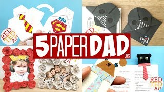 5 Paper Father's Day Diys - Make Paper Gifts For Dad With These Easy Homemade Paper Diys