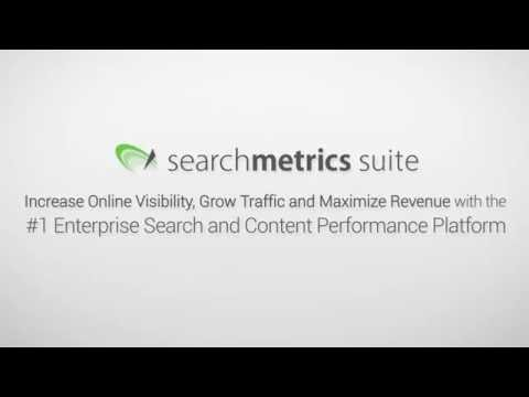 [UK] Searchmetrics Suite - #1 Search and Content Performance Platform