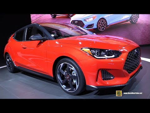 2019 Hyundai Veloster Exterior and Interior Walkaround Debut at 2018 Detroit Auto Show