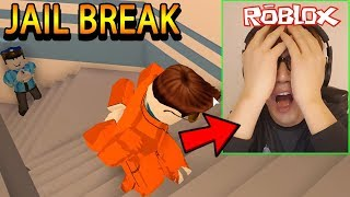 NOOB PLAYS ROBLOX [FUNNY] [JAILBREAK]