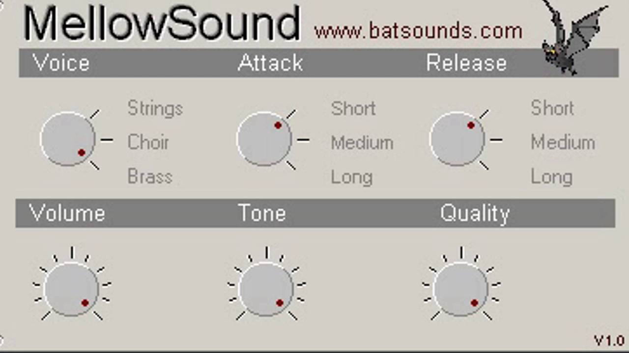 Download Free String synth plug-in: MellowSound by Batsound