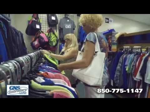 GNS Embroidery & Screen Printing Commercial With Narration - Panama City Beach, Florida