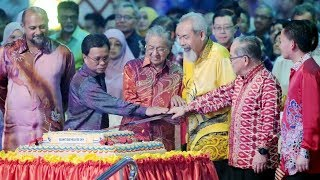 A different Malaysia Day celebration this time around - Tun M