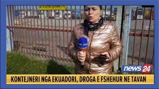 Zbulohet sasia, dyshohet për 200 kg kokainë në konteinerin në Durrës! Destinacion kishte një...