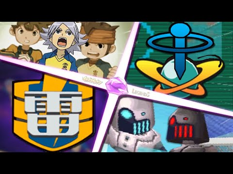 Inazuma Eleven Legends - Raimon x Keibi Machines - Evoluir Para Vencer!