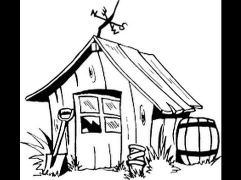 faire soi m me sa cabane ou son abri voiture youtube. Black Bedroom Furniture Sets. Home Design Ideas