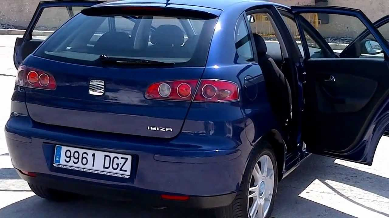 2005 seat ibiza 1 4 stella 5dr lhd in spain for sale youtube. Black Bedroom Furniture Sets. Home Design Ideas