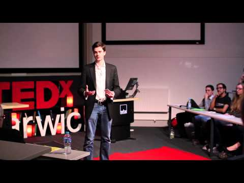 Thumbnail: Stop Climbing, Start Swimming: The hidden advantages of dyslexia: Jonathan Buchanan at TEDxWarwickED