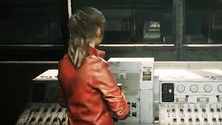 RESIDENT EVIL 2 -  Remake Claire Gameplay Demo TGS 2018  (PS4, XB1, PC)