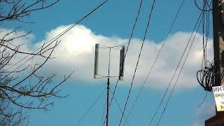видео Самодельные ветрогенераторы с вертикальной осью вращения
