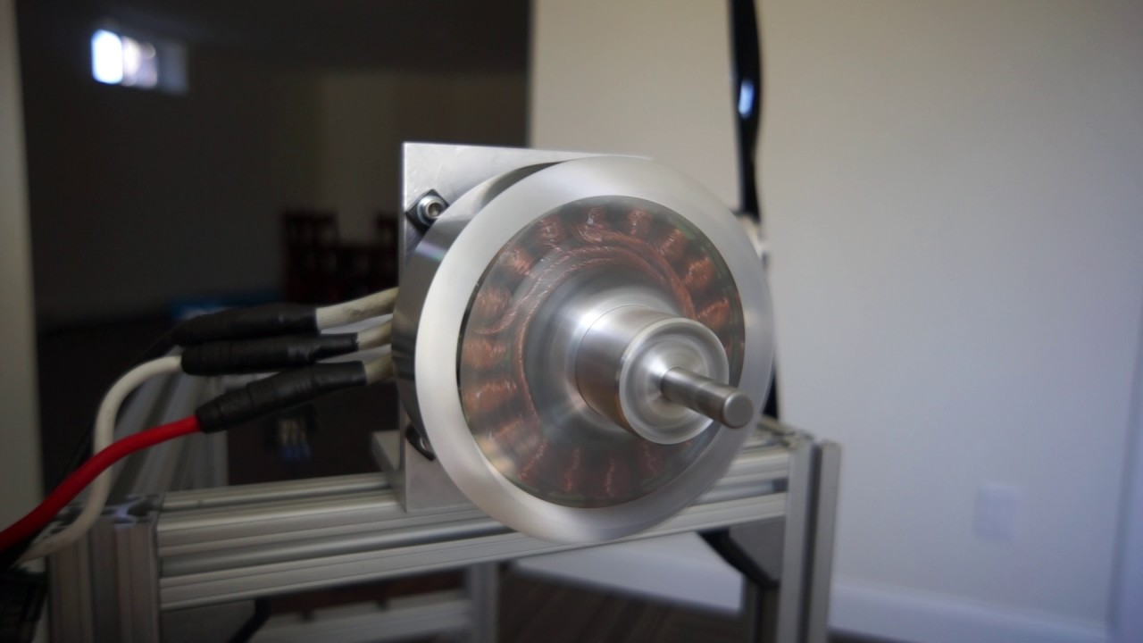 Halbach array motor 12kw youtube for Halbach array motor generator