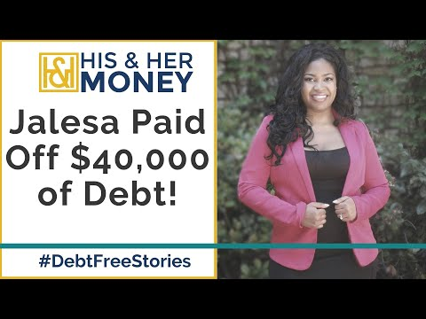How Jalesa Ann Paid off $40,000 of Debt After Being Laid Off