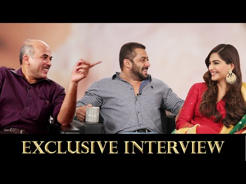In Conversation With Salman Khan, Sonam Kapoor & Sooraj Barjatya | Prem Ratan Dhan Payo Exclusive