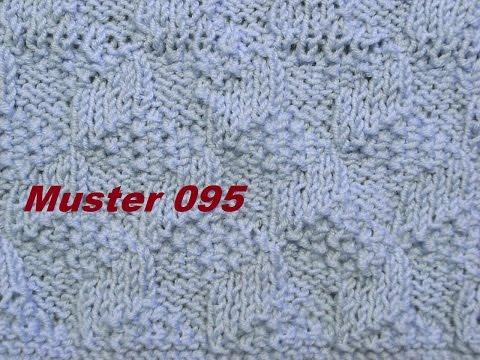Muster 095*Plastischemuster*3D Muster für Pullover Strickjacke Mütze