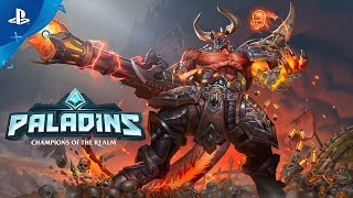 Paladins - Raum, Rage Of The Abyss Trailer | PS4