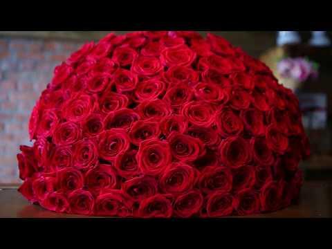 Как собрать букет из 101 розы. 2 серия.