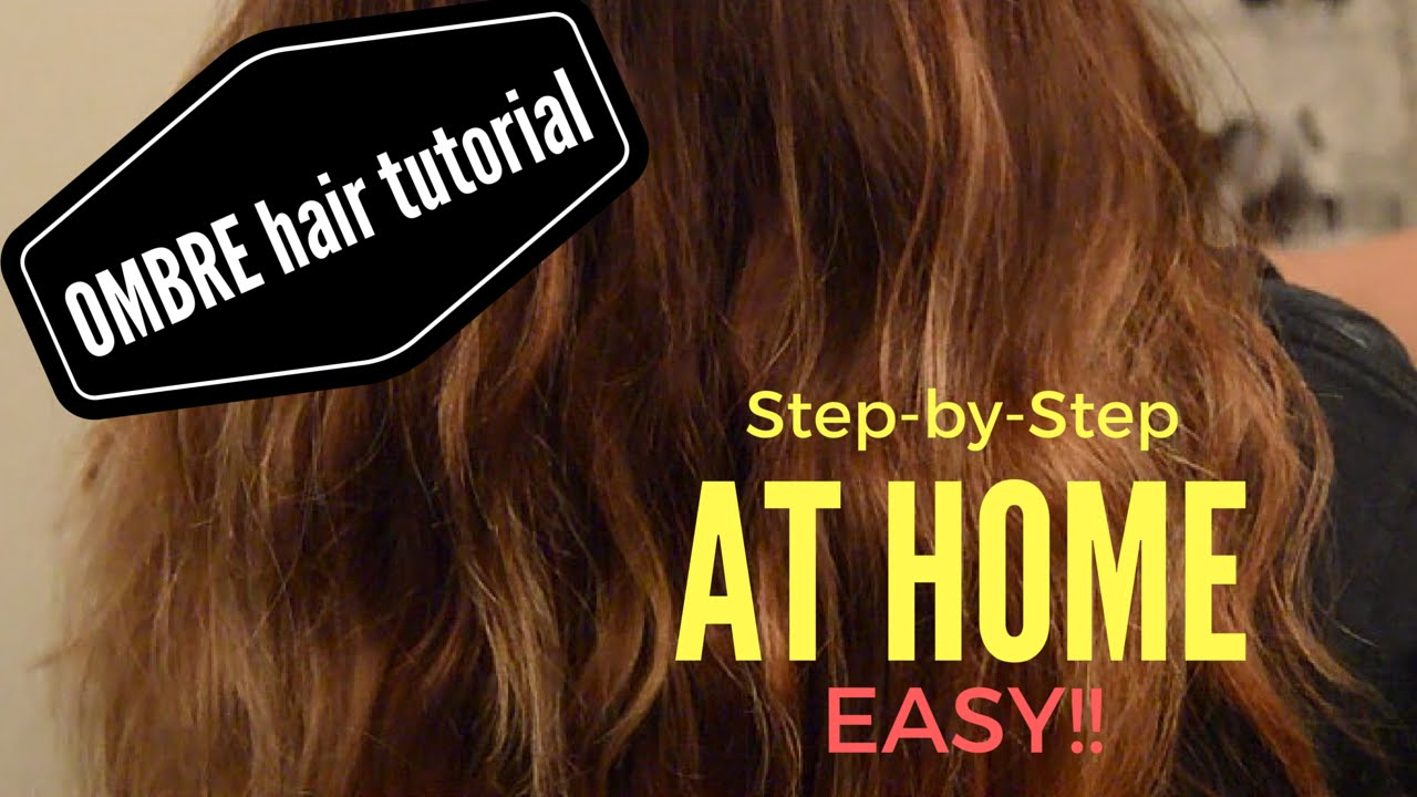 How to ombre step by step hair tutorial youtube how to ombre step by step hair tutorial solutioingenieria Choice Image