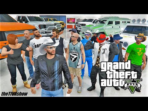 GTA 5: All NIGHT LIVE STREAM / OPEN LOBBIES / WORLD PREMIERE RACES by AGENTROB47 and MAXTORQUE87