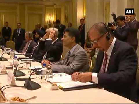 PM Modi interacts with top business leaders in Washington D.C. - ANI News