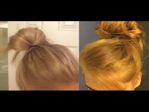 How I Toned my orange hair using Wella toner T13 - YouTube