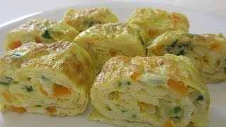 egg roll recipe in bengali