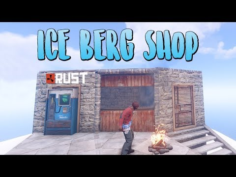 The ICEBERG Shop! - Rust SOLO Survival