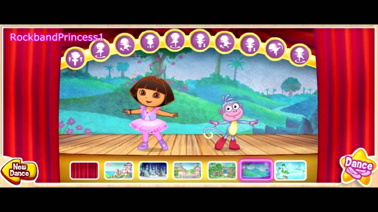 Dora The Explorer Online Games Dora Ballet Adventure Game