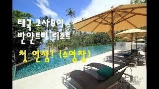 태국 코사무이 신혼여행 반얀트리 첫인상-수영장 (Tha…