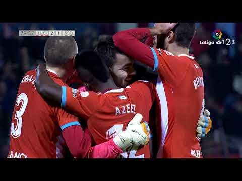 Golazo de Juan Carlos (3-1) CD Lugo vs Sporting de Gijón