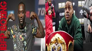 Terence Crawford has Errol Spence afraid of the TRUTH