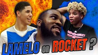 LAMelo Ball Is Not Better Than Rocket Watts??? SPIRE vs LeBron James Alma Mater VLOG!