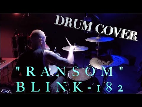 Ransom - BLINK-182   Jeremy Shields DRUM COVER