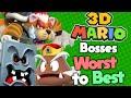 Ranking Every 3D Mario Boss