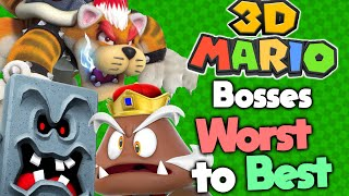 Ranking Every 3D Mario Boss