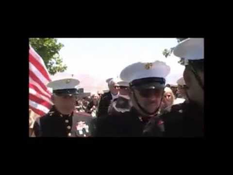 Dan Dyer Marine Honor Guard Funeral May 29/13 RNC; Stephen Wilkinson Bagpiper (562) 383 1838