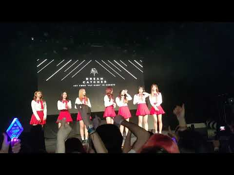 Dreamcatcher In Madrid / Into The New World (SNSD) And Lucky Strike ( Maroon 5) [Fan Cam]