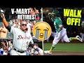 Khris Davis WALK OFF Home Run! Victor Martinez Retires, Addison Russell! MLB Highlights & Recap