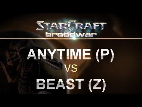 StarCraft: Remastered - Anytime (P) v Beast (Z) on Fighting Spirit