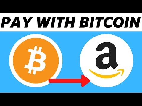 How To Pay With Bitcoin On Amazon! (2021)