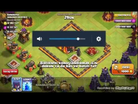 Clash Of Clans Server 999asker Buyu Yukle Indir Dowland Turkce 1