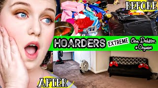 😷HOARDER!!! NEW EXTREME CLEANING MOTIVATION | CLEAN WITH ME  | LIVING WITH CAMBRIEA