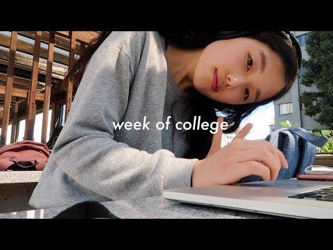my first week of college 📚 uc berkeley senior