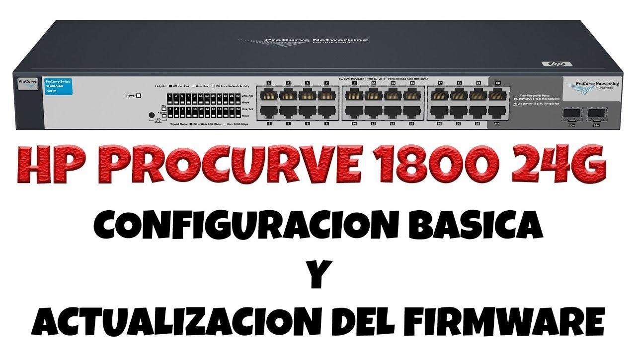 procurve 1800-24g j9028b firmware