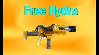 Fortnite giving away a free HYDRA !!! (SAVE THE WORLD)