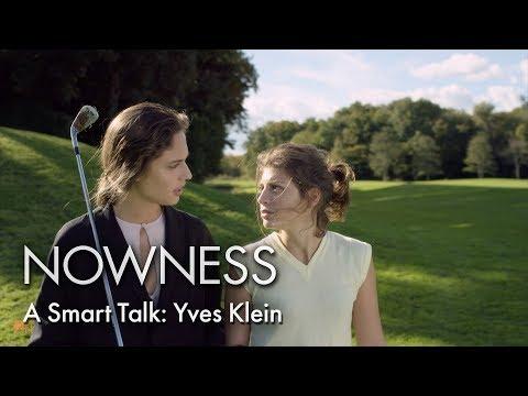 A Smart Talk: Yves Klein