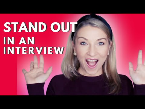How To STAND OUT From The Competition In A JOB INTERVIEW