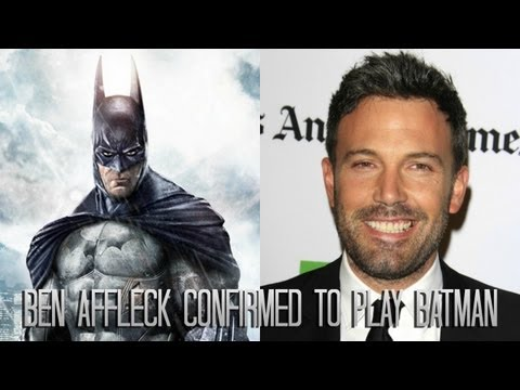 "Ben Affleck Confirmed to play Batman in ""Batman vs Superman""!!!"