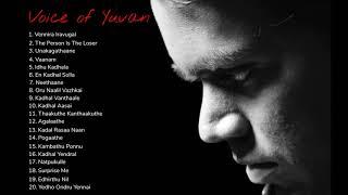 Voice Of Yuvan Shankar Raja   Vol 1   One Stop Jukebox   Tamil   Super Hit Songs
