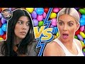 Kim & Kourtney's INTENSE Fight Over Candy!